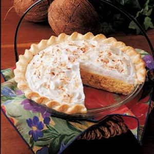 Quick Coconut Cream Pie Recipe
