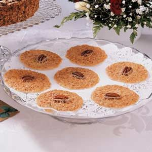 Lace Cookies Recipe | Taste of Home
