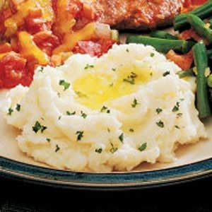 Rich Mashed Potatoes Recipe