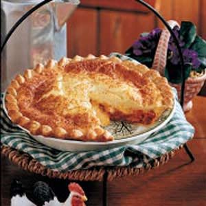 Bacon-Cheese Puff Pie Recipe