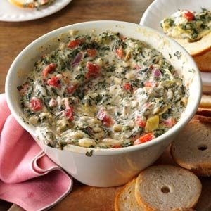 Five-Cheese Spinach & Artichoke Dip Recipe
