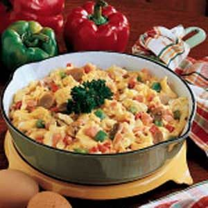 Winter Garden Scrambled Eggs Recipe