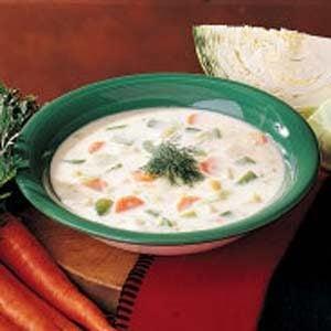 Cream of Cabbage Soup Recipe