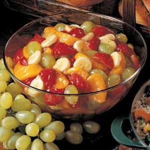 Quick Peach Fruit Salad Recipe