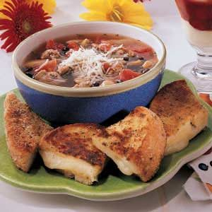 Sausage Bean Soup Recipe
