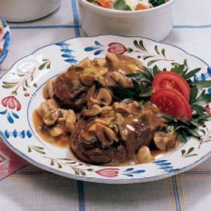 Beef Tenderloin in Mushroom Sauce Recipe