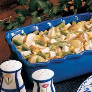 Chicken Veggie Casserole Recipe