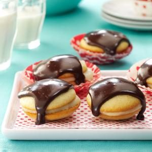 Boston Cream Pie Cookies Recipe