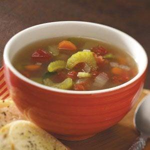 Speedy Vegetable Soup Recipe