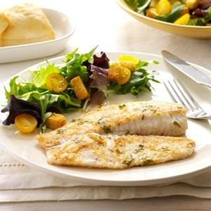 Lime-Cilantro Tilapia Recipe