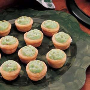 Pistachio Pudding Tarts Recipe