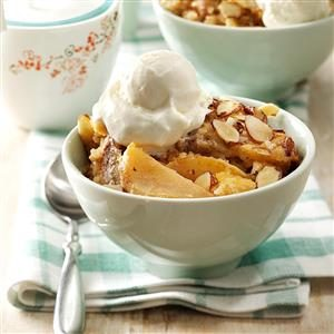 Nutty Apple Streusel Dessert