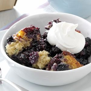 Black and Blue Cobbler