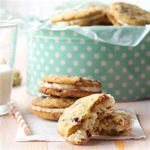 Cranberry Orange Sandwich Cookies Recipe