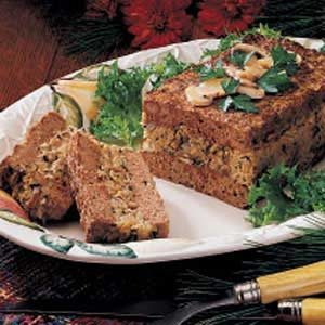 Mushroom-Stuffed Meat Loaf Recipe