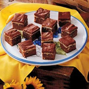 Fudgy Coconut Squares Recipe