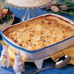 Peppery Scalloped Potatoes Recipe