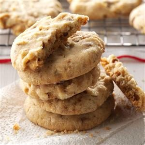 Toffee Almond Sandies Recipe