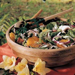 Springtime Spinach Salad Recipe