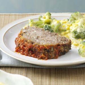 Italian Mushroom Meat Loaf Recipe photo by Taste of Home