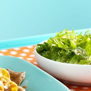 Greens with Herb Vinaigrette Recipe