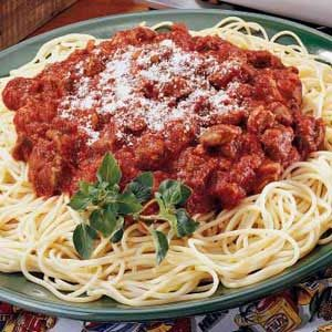 Three-Meat Sauce Recipe