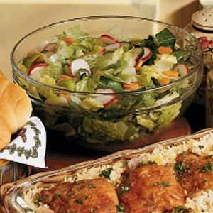 Marinated Garden Salad Recipe