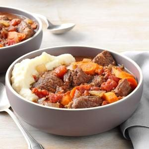 Garlic Lover's Beef Stew Recipe