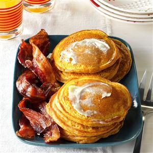 Fluffy Pumpkin Pancakes Recipe