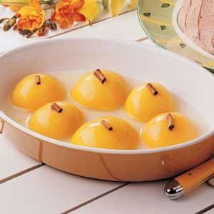 Cinnamon Peaches Recipe