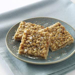 Pine Nut Caramel Shortbread Recipe