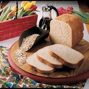 Maple Oatmeal Bread Recipe