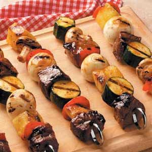 Teriyaki Shish Kabobs Recipe