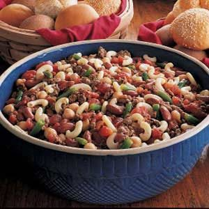 Minestrone Macaroni Recipe