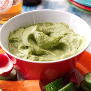 Lime Avocado Hummus Recipe