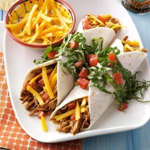Simmered Turkey Enchiladas Recipe
