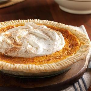 Fluffy Sweet Potato Custard Pie Recipe