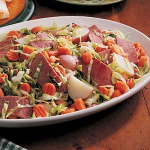 Quicker Boiled Dinner Recipe