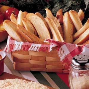 Make hot dog bun breadsticks.