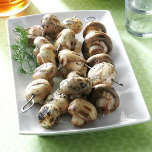 Contest-Winning Grilled Mushrooms Recipe