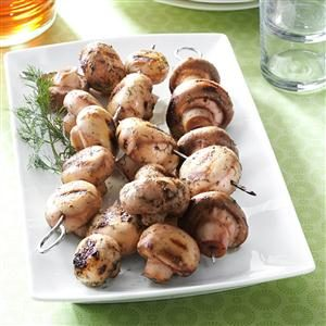 Contest-Winning Grilled Mushrooms