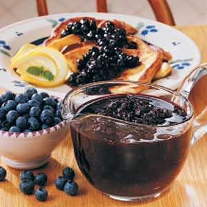 Blueberry Breakfast Sauce Recipe