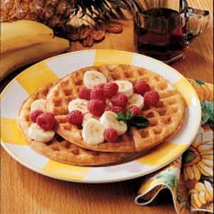 Tutti-Frutti Waffles Recipe