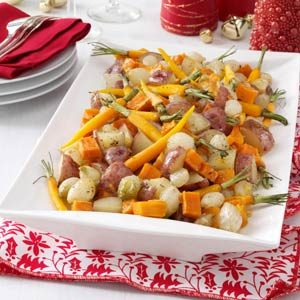 Honey-Orange Winter Vegetable Medley Recipe