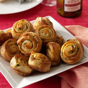 Garlic Bread Spirals Recipe