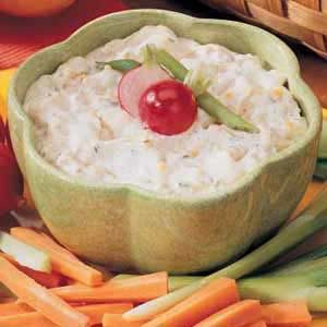 Zesty Vegetable Dip Recipe