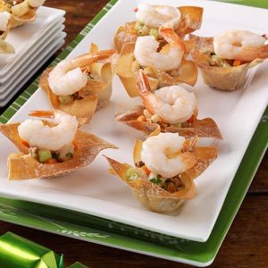Cilantro Shrimp Cups Recipe