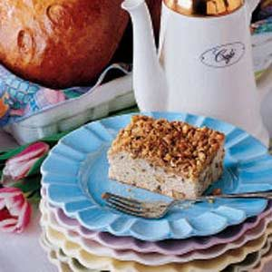 Walnut Coffee Cake Recipe