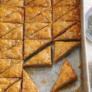 Chipotle-Orange Baklava Recipe