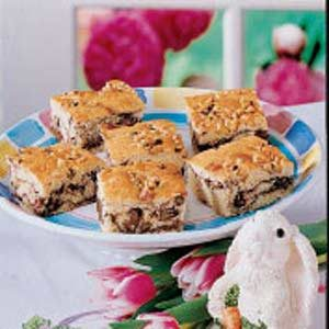 Fudge Ripple Squares